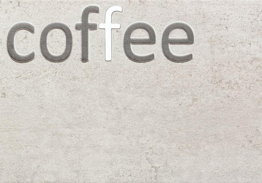 Dekor ścienny 36x25 cm Domino Gris Coffee