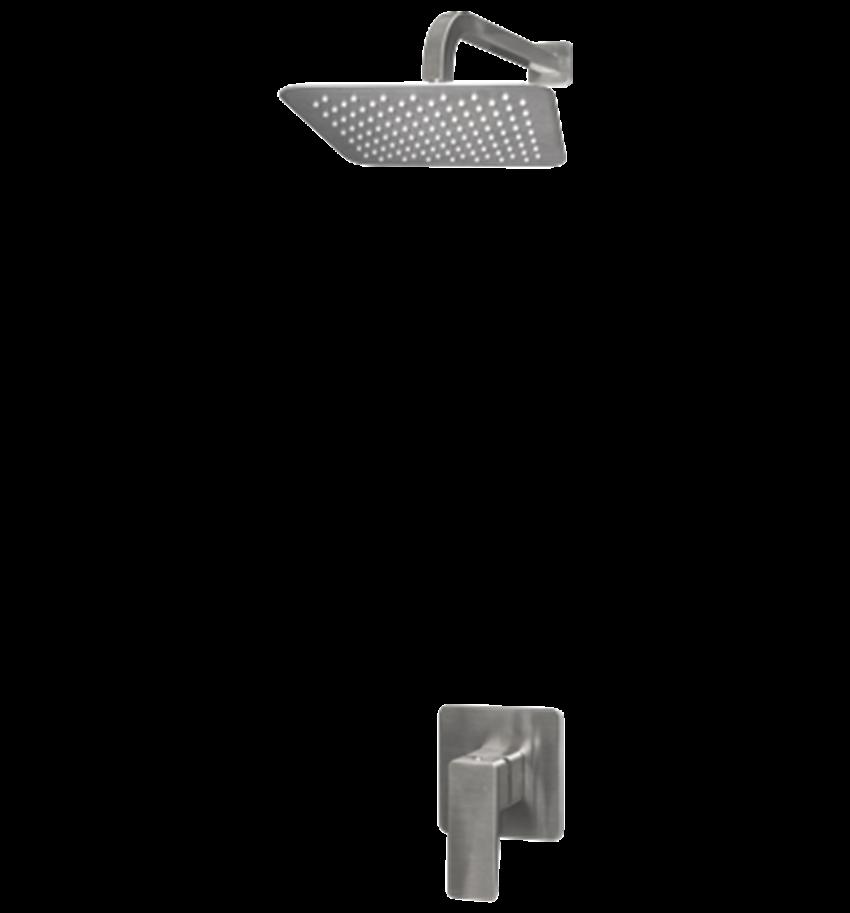 Kompletny łazienkowy system podtynkowy Omnires Parma