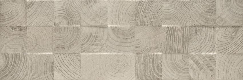 Płytka ścienna Paradyż Daikiri Grys struktura Wood Kostki