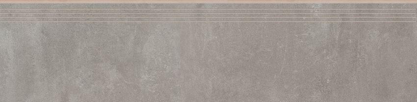 Płytka stopnicowa 29,7x119,7 cm Cerrad Tassero gris