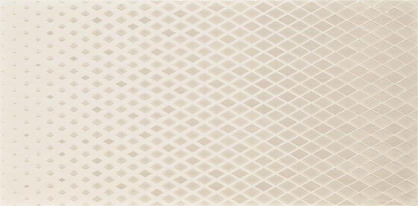 Płytka dekoracyjna 29,7x59,8 cm Cersanit Syrio white inserto