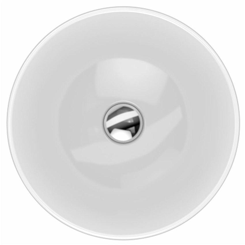 Umywalka okrągła wpuszczana w blat 40 cm Koło VariForm