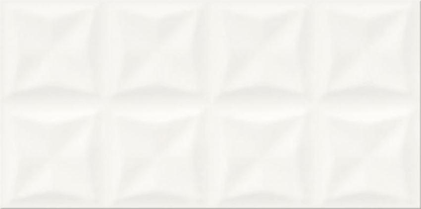 Płytka ścienna Opoczno origami white glossy structure OP658-023-1