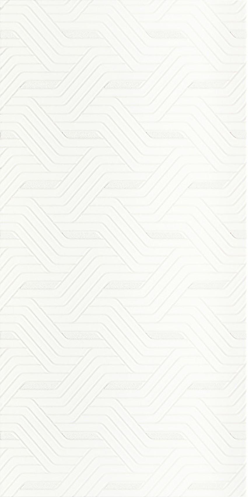 Dekoracja ścienna 30x60 cm Paradyż Synergy Bianco Inserto