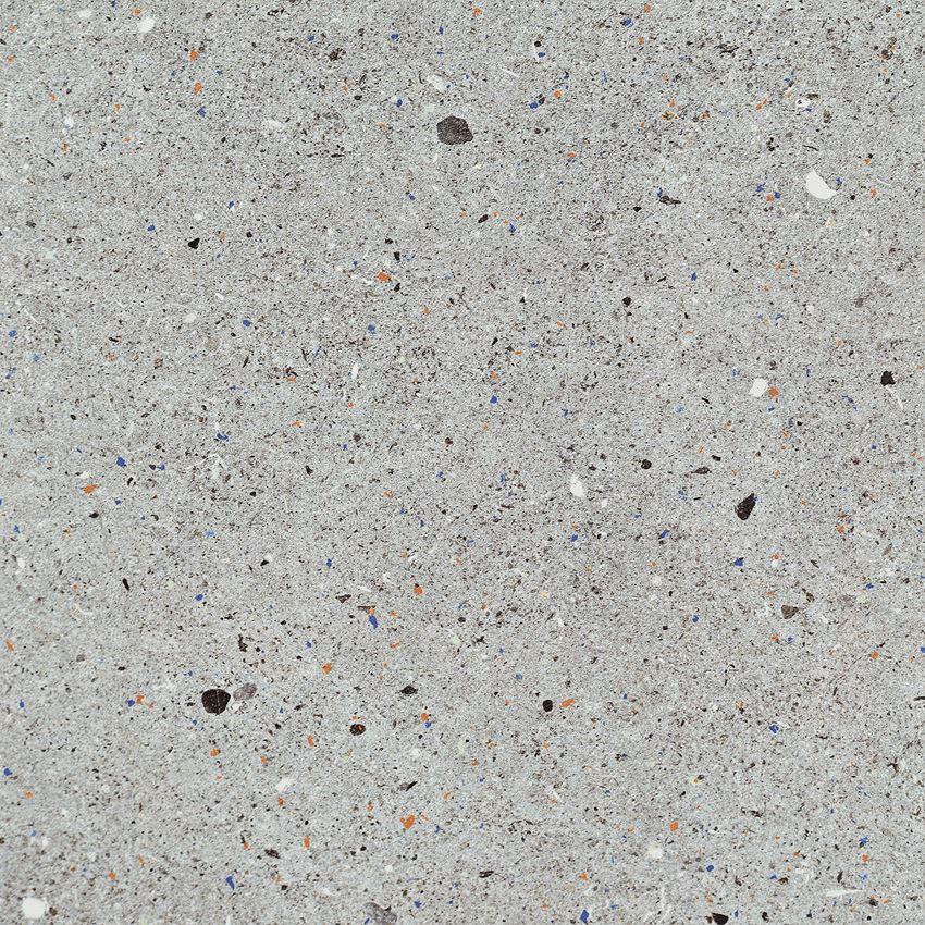 Płytka podłogowa 59,8x59,8 cm Tubądzin Dots graphite LAP