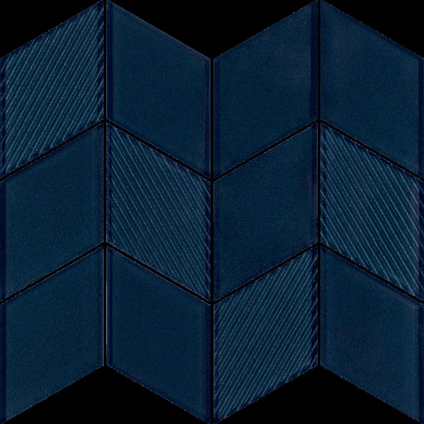Mozaika szklana 20,5x23,8 cm Paradyż Uniwersalna Mozaika Szklana Sky Romb