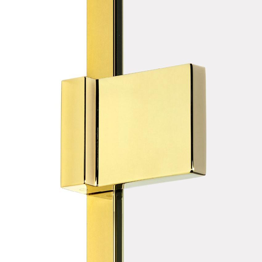Kostka i listwa z serii New Trendy Avexa Gold Shine