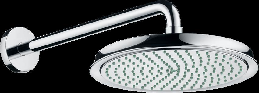 Głowica prysznicowa 240 1jet z ramieniem prysznicowym Hansgrohe Raindance Classic