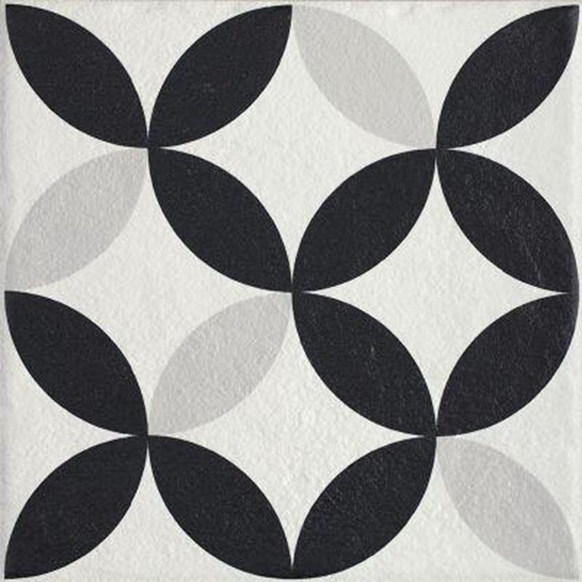 Płytka ścienno-podłogowa 19,8x19,8 cm Paradyż Modern Gres Szklany Struktura Motyw E