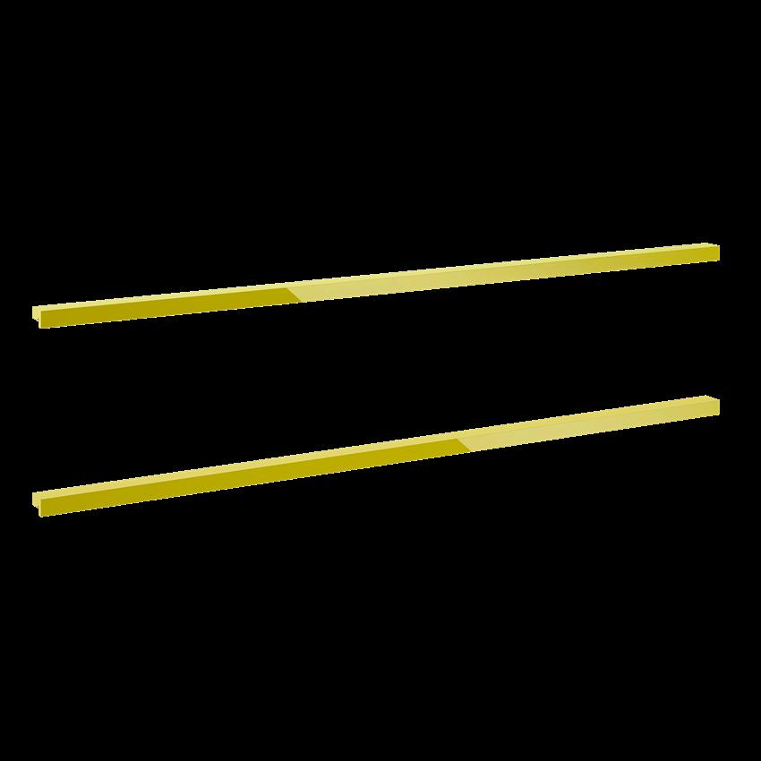 Komplet uchwytów 60 cm Elita Kwadro Plus Gold