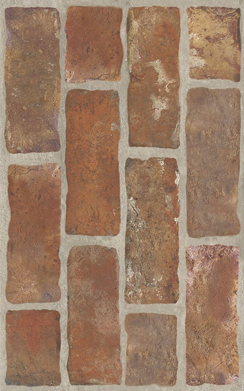 Płytka ścienna 25x40 cm Paradyż Loft Brown Ściana Struktura Brick