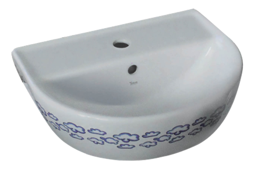 Umywalka ścienna 45x35 cm CeraStyle Happy