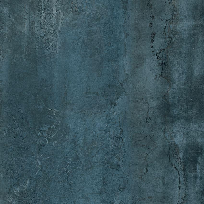 Płytka ścienno-podłogowa 79,8x79,8 cm Opoczno Ironic Blue Polished