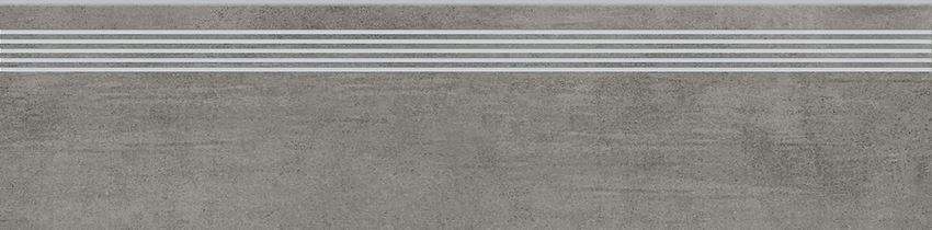 Płytka stopnicowa 29,8x119,8 cm Opoczno Grava Grey Steptread