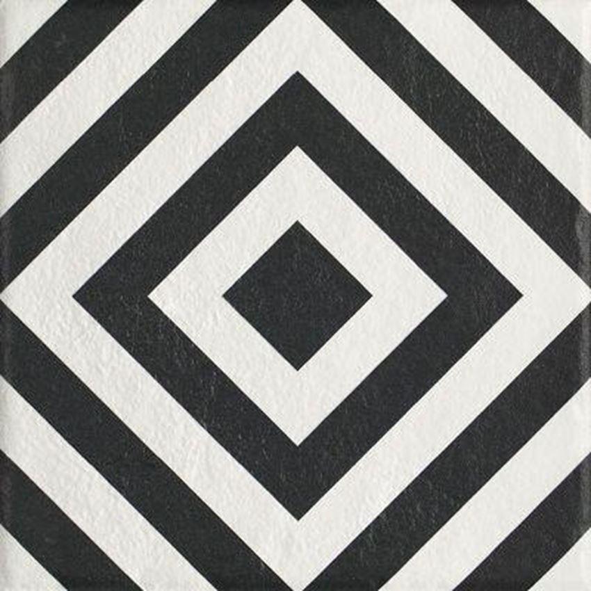 Płytka ścienno-podłogowa 19,8x19,8 cm Paradyż Modern Gres Szklany Struktura Motyw B