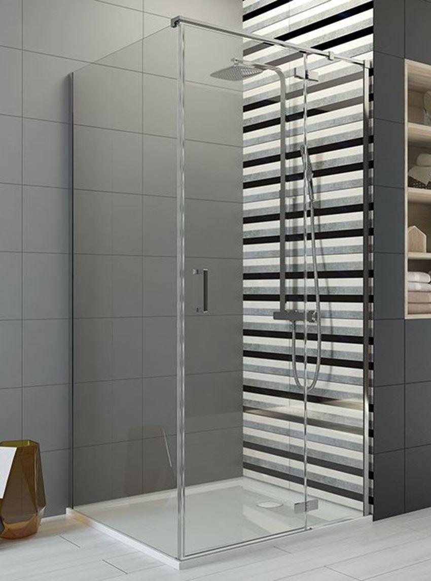 Kabina prysznicowa kwadratowa 90x200 cm Sanplast Free Line III