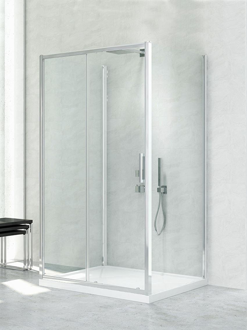 Kabina prysznicowa przyścienna New Trendy New Corrina