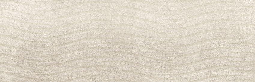 Płytka ścienna 24x74 cm Cersanit Torana cream tonal 3d satin