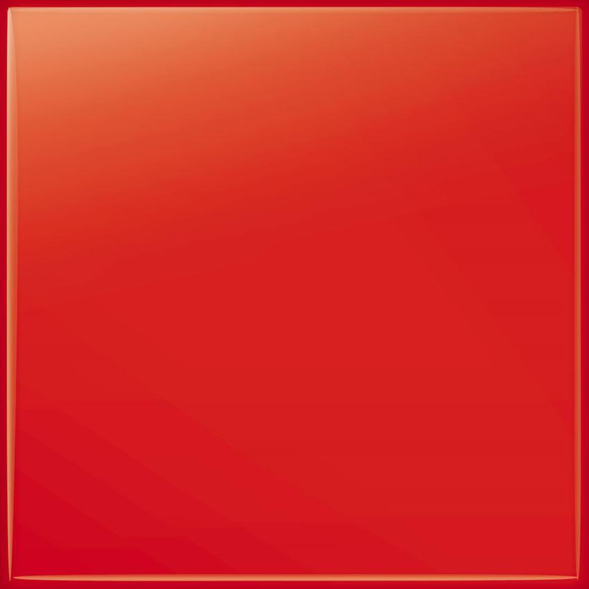 Płytka ścienna Tubądzin Pastel czerowny (RAL K7/3020)