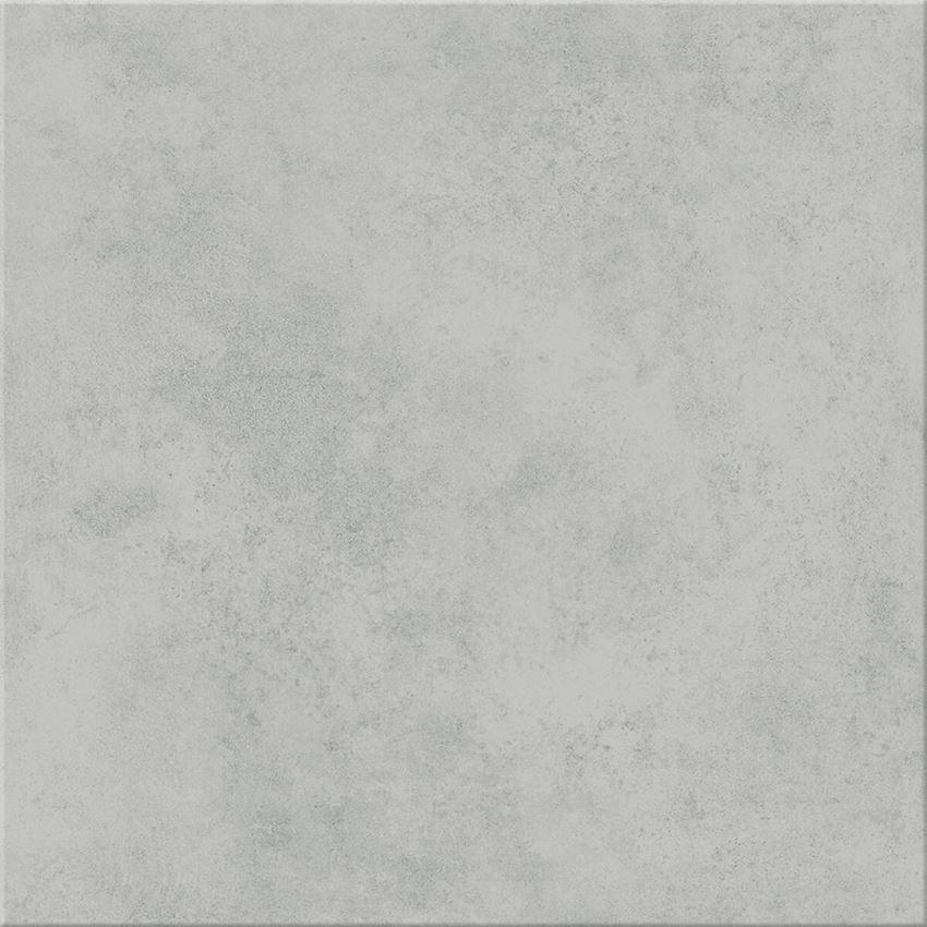 Płytka podłogowa 42x42 cm Cersanit Gpt447 light grey satin