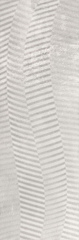 Płytka ścienna 29,8x89,8 cm Industrial Chic Grys Ściana Struktura Rekt