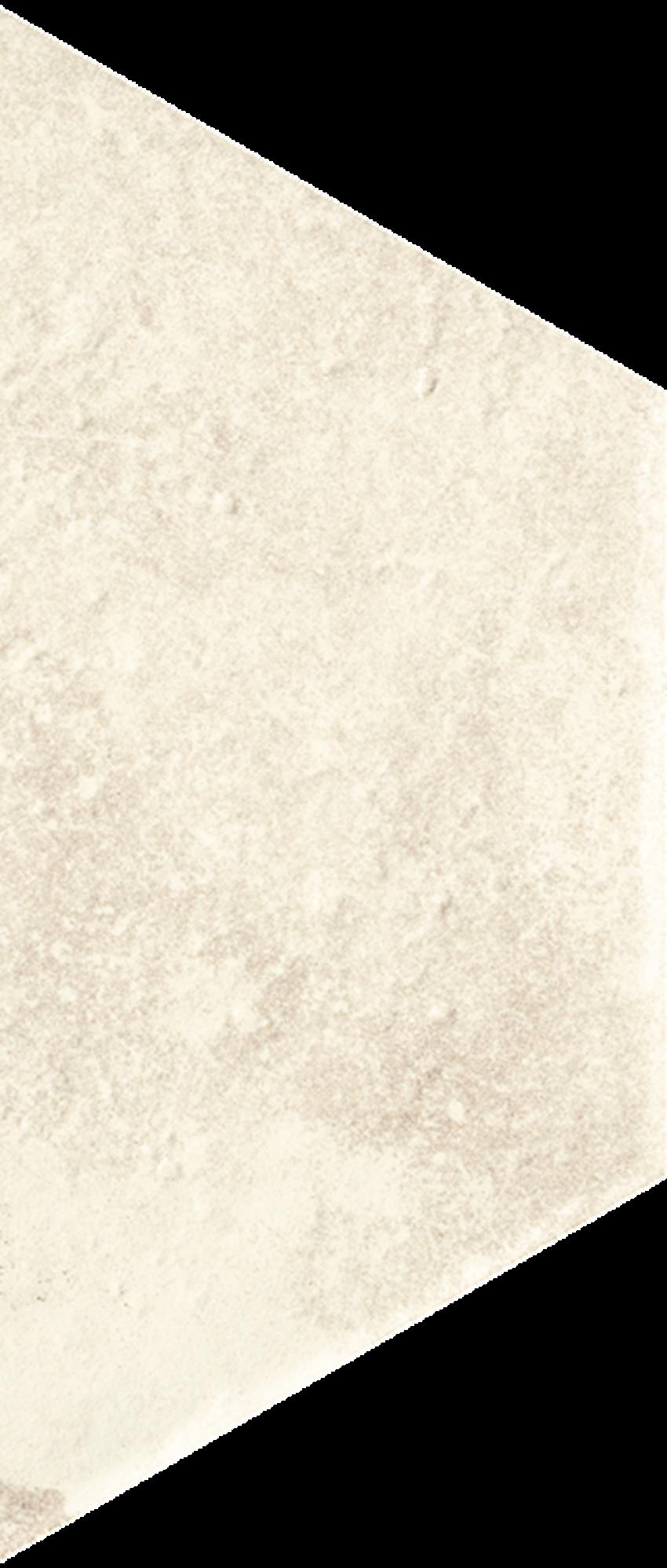 Dekoracja podłogowa 12,6x29,6 cm Paradyż Scandiano Beige Trapez