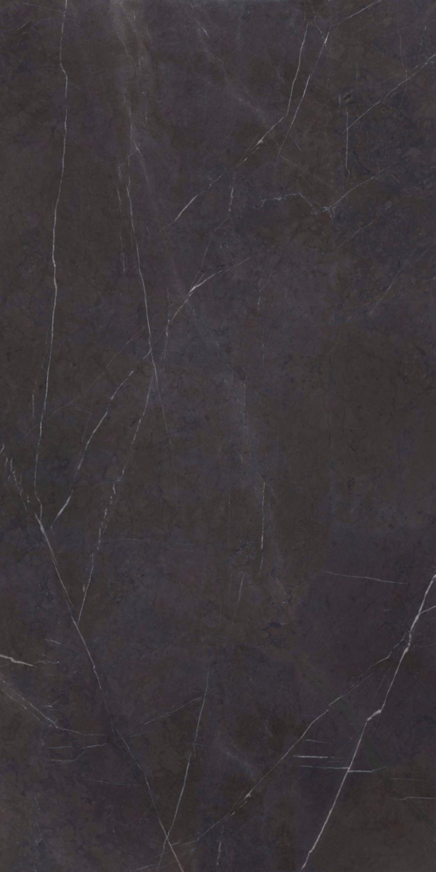Płytka ścienna wielkoformatowa 162x324Cerrad Marquina black polished