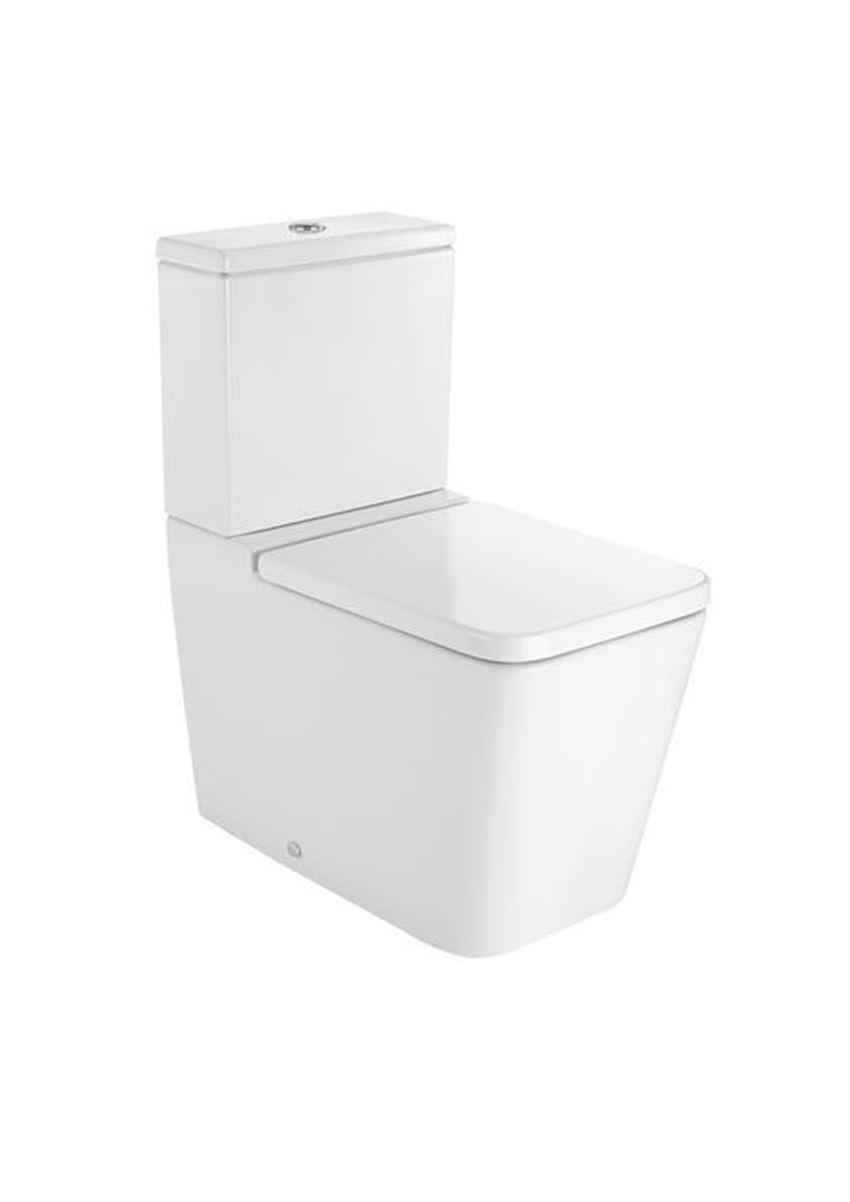 Miska WC o podwójny do kompaktu Square Roca Inspira A342537000