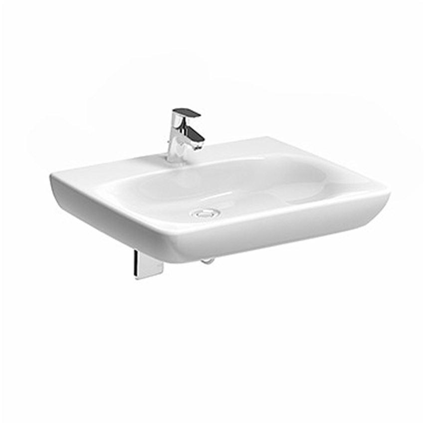 Umywalka dla osób niepełnosprawnych z otworem bez przelewu 65 cm Koło Nova Pro Bez Barier