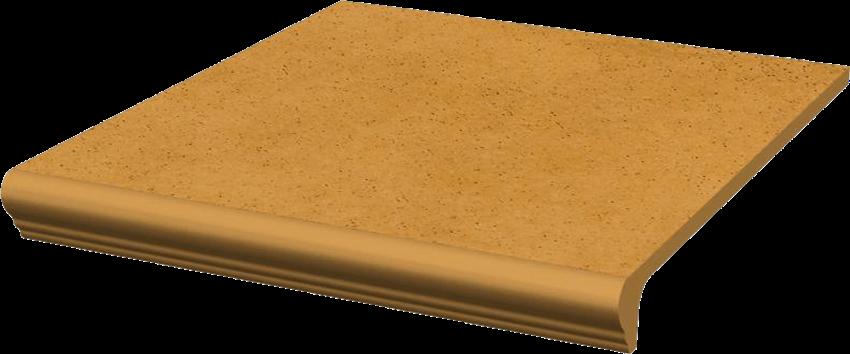 Płytka stopnicowa 30x33 cm Paradyż Aquarius Beige Kapinos Stopnica Prosta