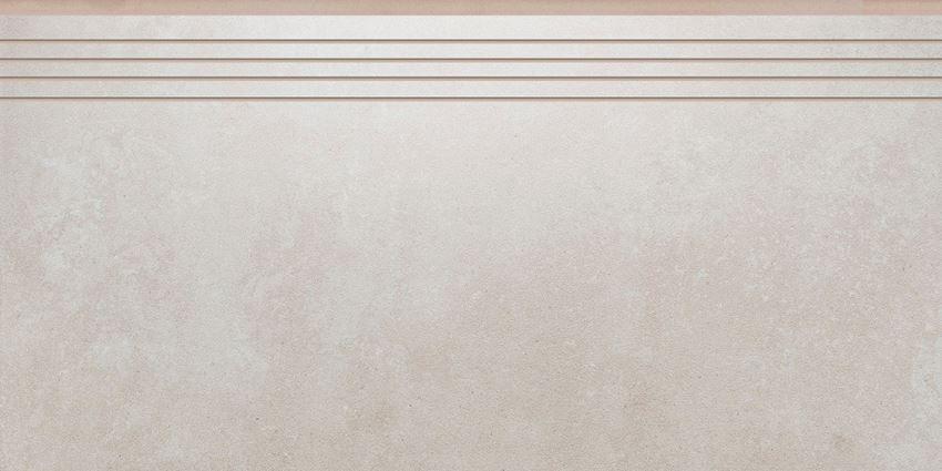 Płytka stopnicowa 29,7x59,7 cm Cerrad Tassero beige lappato