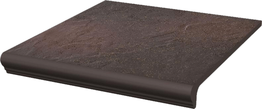Płytka stopnicowa 30x33 cm Paradyż Semir Rosa Kapinos Stopnica Prosta