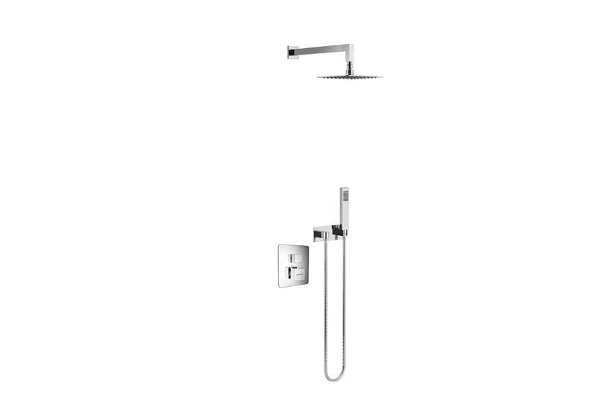 Zestaw prysznicowo-wannowy podtynkowy Excellent Frost Quatro Termo