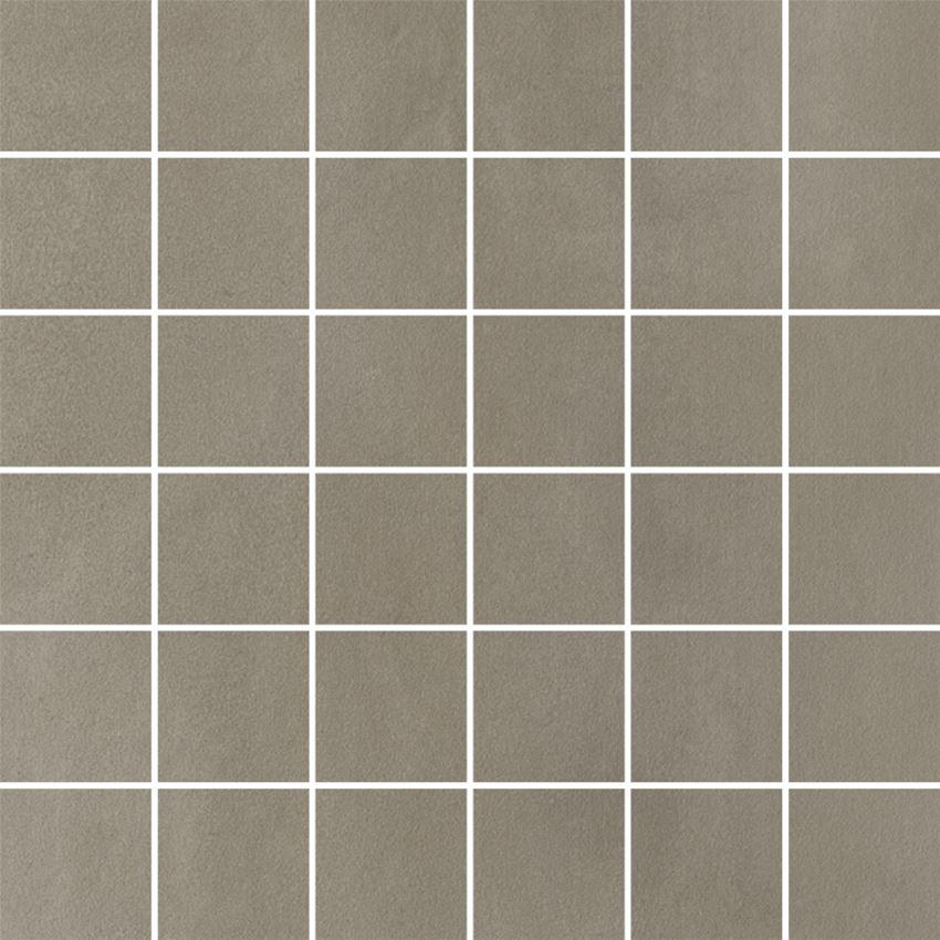 Mozaika 29,8x29,8 cm Paradyż Tigua Grys Mozaika Cięta K.4,8X4,8 Mat