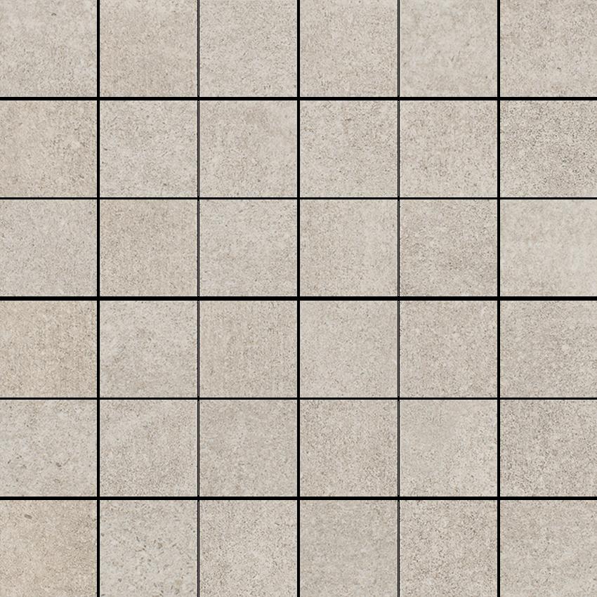 Mozaika, 29,8x29,8 cm Paradyż Riversand Beige Mozaika Cięta K.4,8X4,8 Mat.