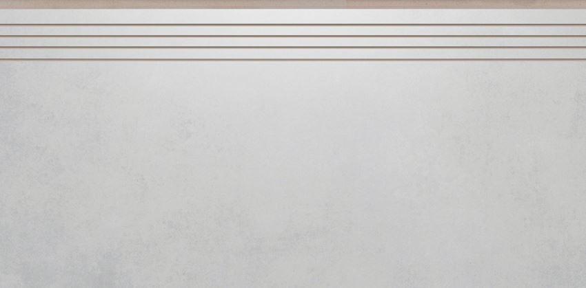 Płytka stopnicowa 29,7x59,7 cm Cerrad Batista dust lappato