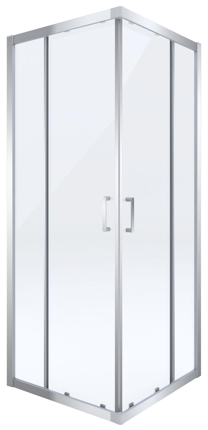 Kabina prysznicowa kwadratowa Deante Cito KQC 042P