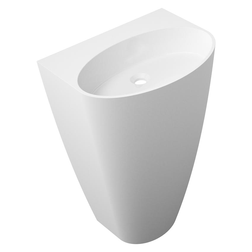 Umywalka wolnostojąca 55x43x85 cm Omnires Siena