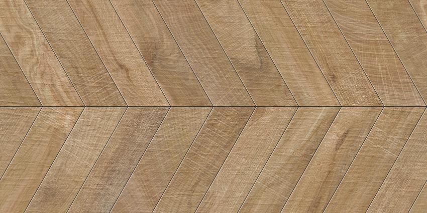Płytka podłogowa 60x120 cm Azario Wood Chevron Natural