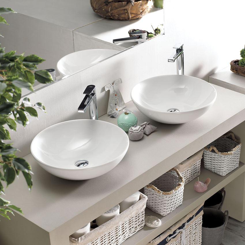 Umywalka nablatowa CeraStyle Zero w łazience