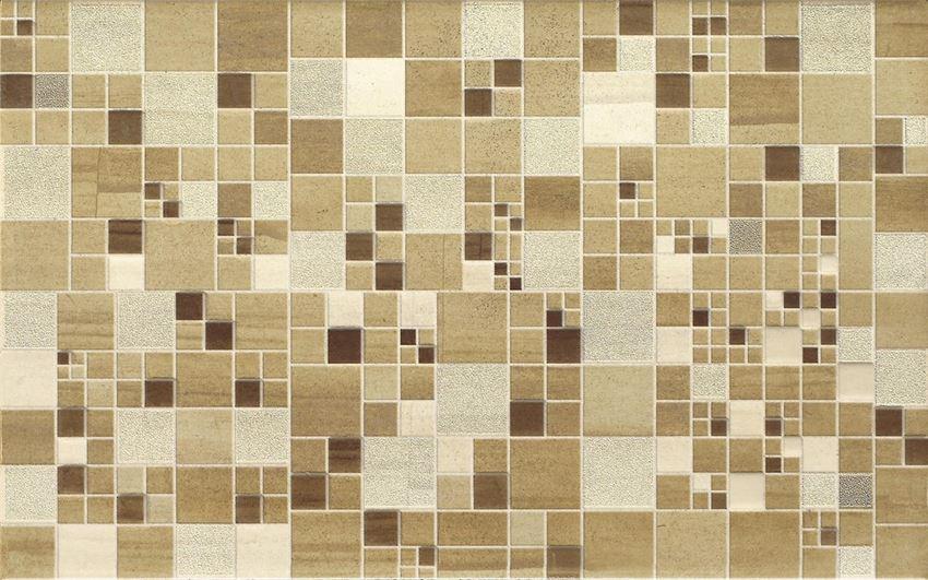 Płytka dekoracyjna, 25x40 cm Cersanit Mosa cream inserto gro squares