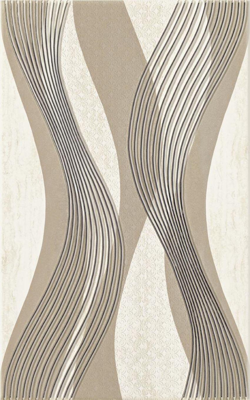 Dekoracja ścienna 25x40 cm Paradyż Sari Beige Inserto