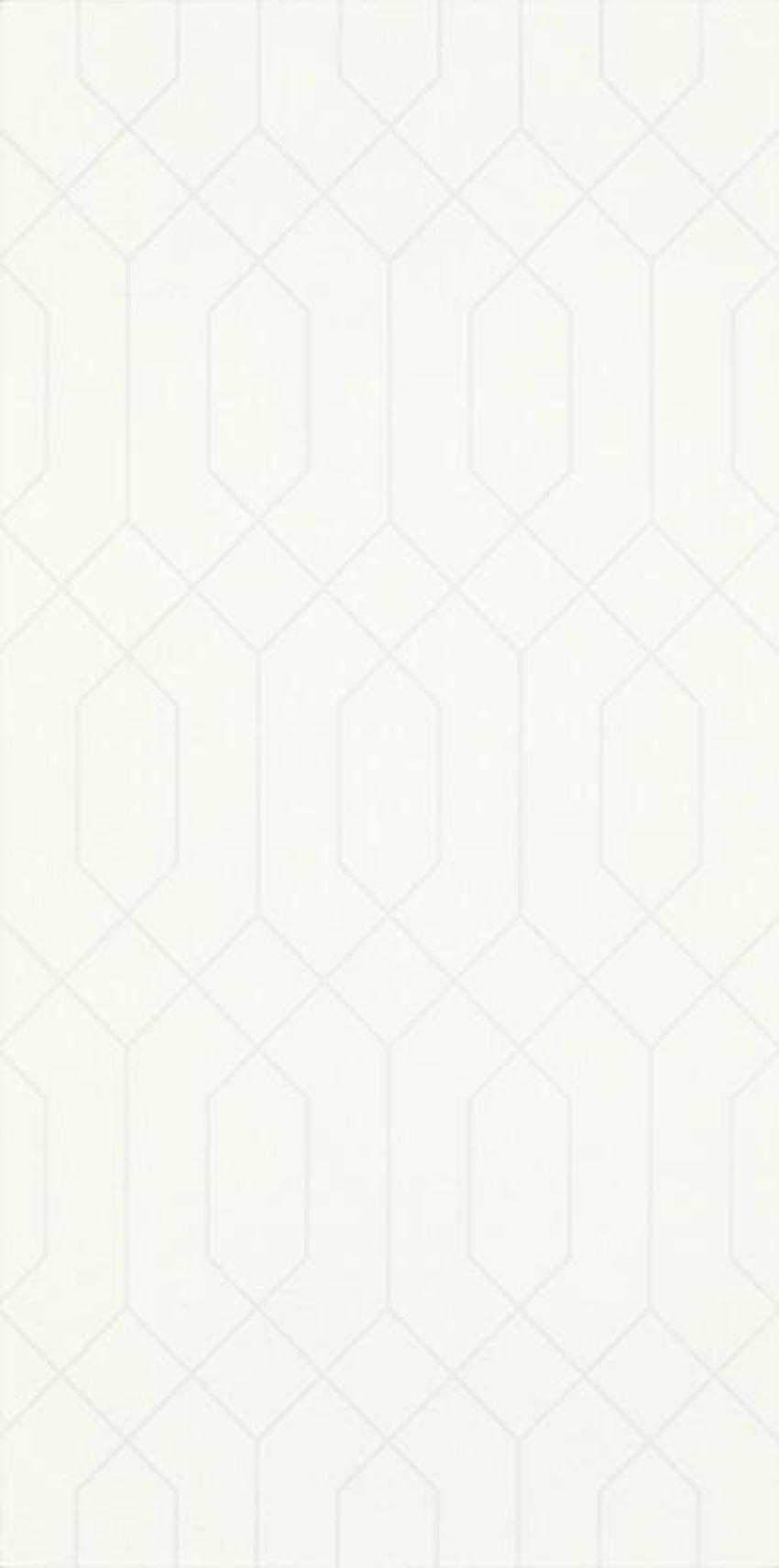 Płytka ścienna 29,5x59,5 cm Paradyż Taiga Ivory Ściana Rekt. Dekor