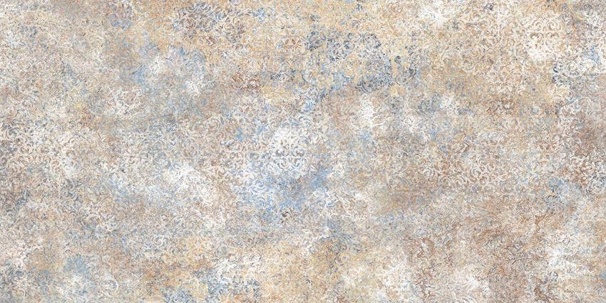 Płytka uniwersalna 59,8x119,8 cm Tubądzin Persian Tale Blue