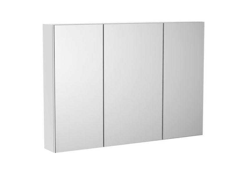 Szafka łazienkowa z lustrem 100x14,6x70 cm Roca Luna