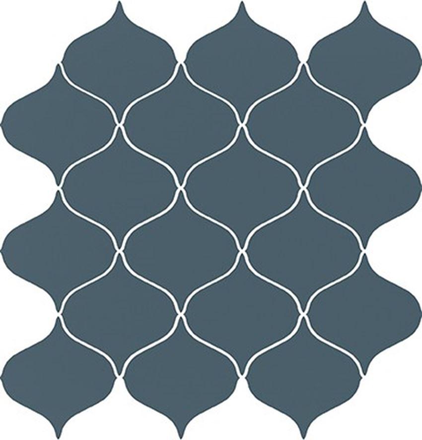 Mozaika 28,1x29,3 cm Opoczno Ocean Romance Turquoise Mosaic Satin