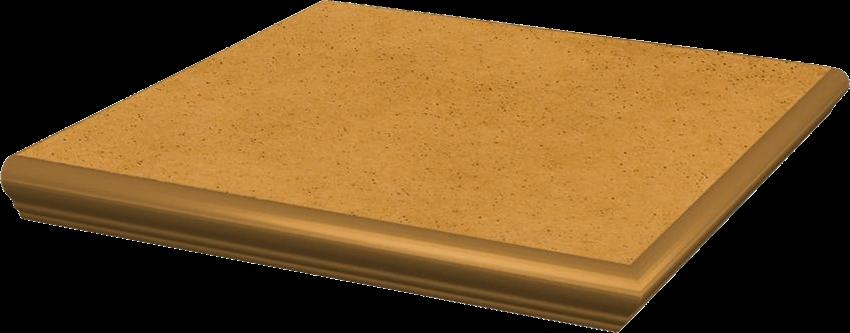 Płytka stopnicowa 33x33 cm Paradyż Aquarius Beige Kapinos Stopnica Prosta Narożna