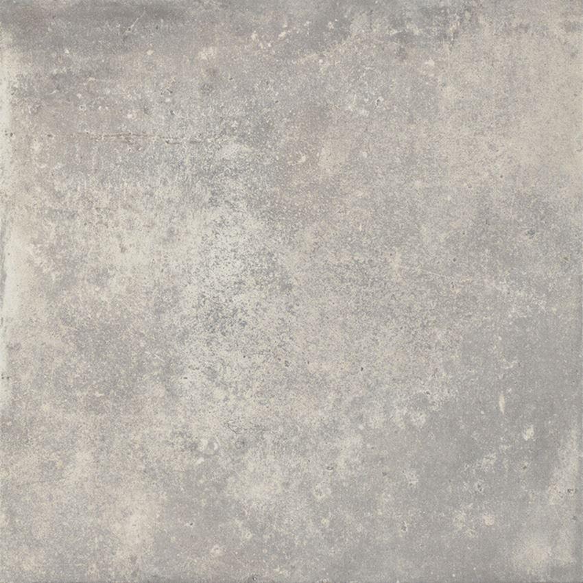 Płytka ścienno-podłogowa 59,8x59,8 cm Paradyż Trakt Grys Gres Szkl. Rekt. Mat.