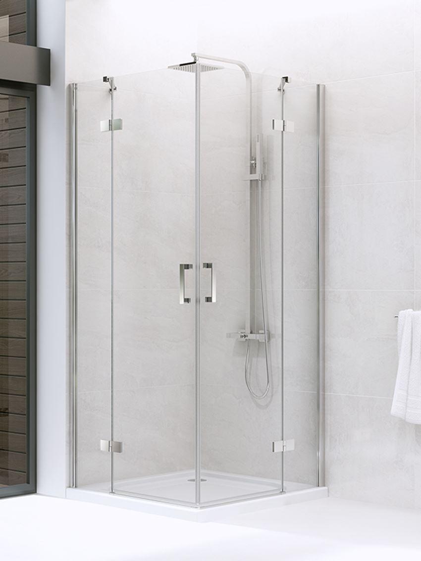 Kabina prysznicowa New Trendy New Renoma z podwójnymi drzwiami