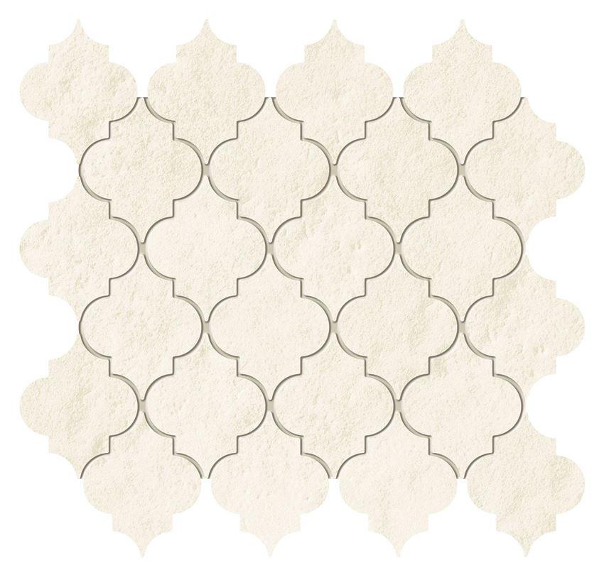 Mozaika ścienna 26x24 Tubądzin Majolika Creme
